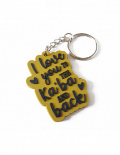 I love you to the kaba and...